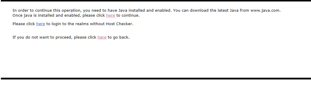 Java error connecting to Juniper VPN \u2013 Technical 411